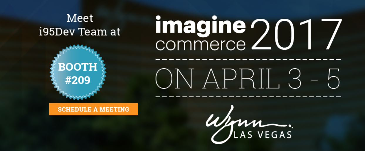 i95Dev Magento Imagine Conference 2017 Booth 209